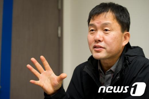 경창수 안산의료생활협동조합 이사장.  News1 유승관 기자
