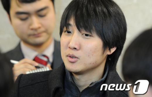 """[사진]이준석 """"디도스 특검 수용하겠다"""""""