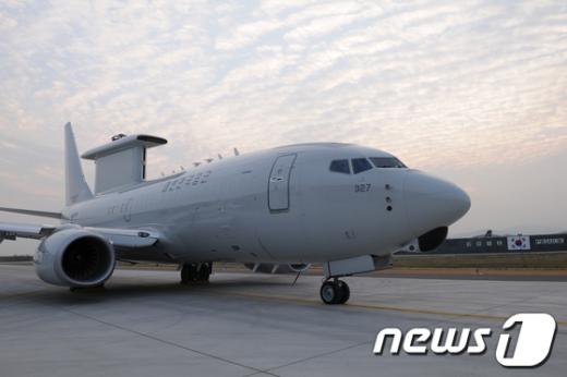 공중조기경보통제기 E-737 '피스아이'. News1 방인권 인턴기자