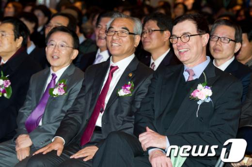 [사진]2012 전북 방문의 해 선포식 참석한 최광식 장관