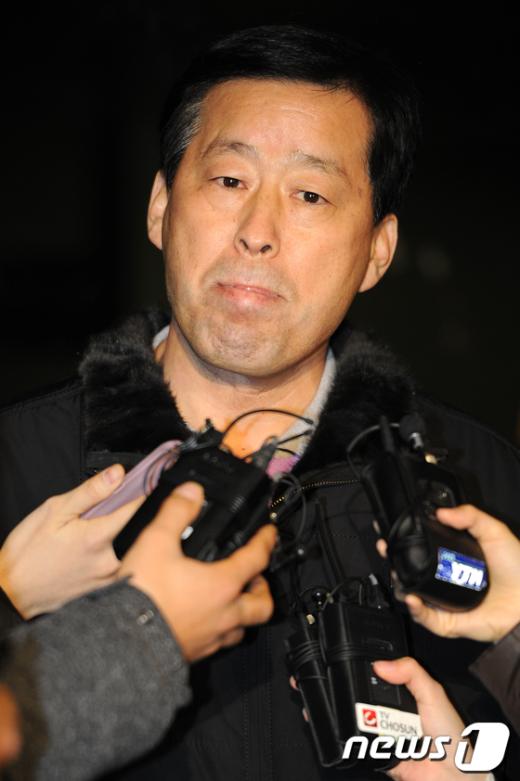 [사진]검찰 조사 받은 안병용 당협위원장