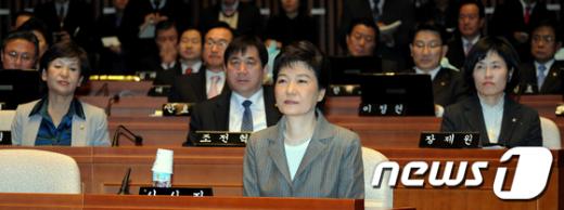 [사진]한나라당 의원총회