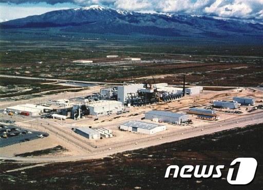 미국 유타주 데저레트 화학무기 비축기지 전경  AFP=News1