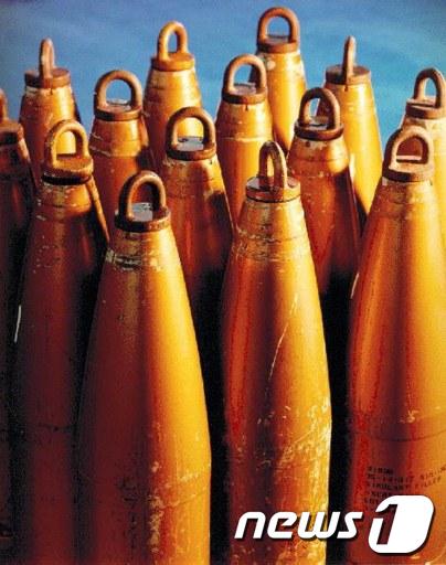 미국이 보관한 화학무기  AFP=News1