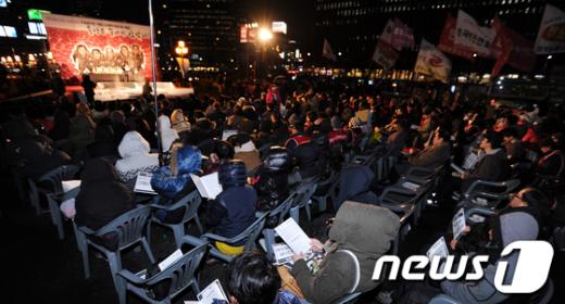 [사진]'용산참사 3주기 추도대회'