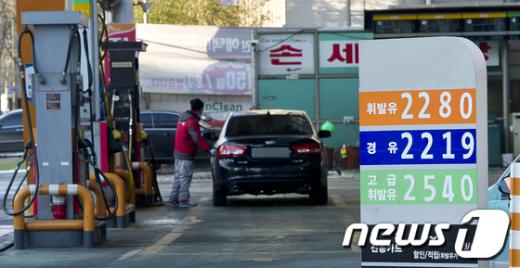 [사진]연일 치솟는 휘발유가격