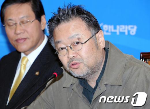 조동원 한나라당 홍보본부장.  News1 이종덕 기자