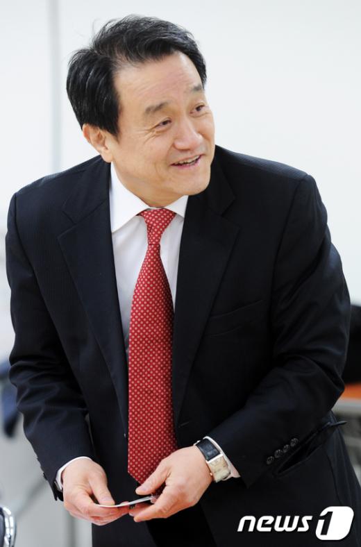 한나라당 비대위 조동성 인재영입분과위원장.  News1 오대일 기자