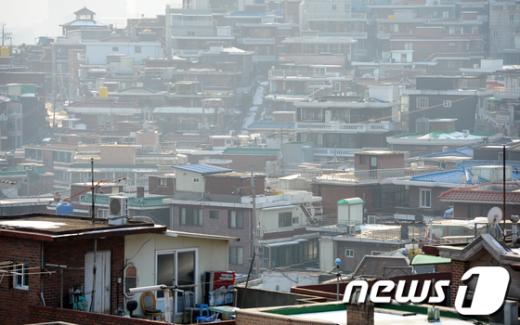 [사진]아파트 전세값 오르면 연립-단독도 덩달아 상승