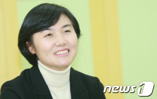 장연주 통합진보당 광주 광산을 예비후보 News1 김태성 기자