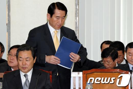 [사진]인사말 마친 조현오 경찰청장
