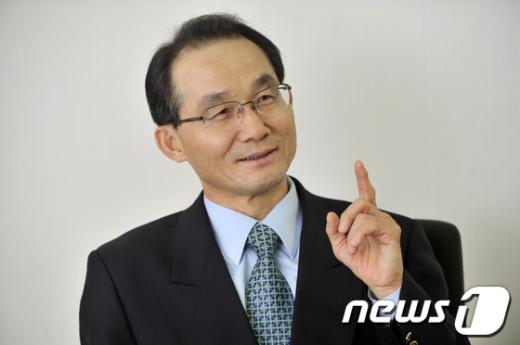 김기만 전 청와대 춘추관장. News1