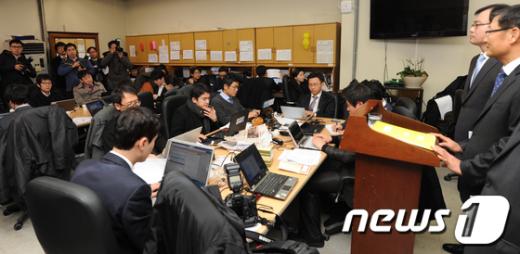 [사진]검찰, 저축은행 비리 2차 수사결과 발표