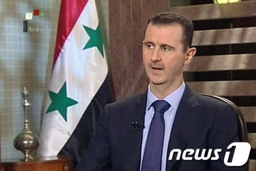 바샤르 알 아사드 시리아 대통령 AFP=News1