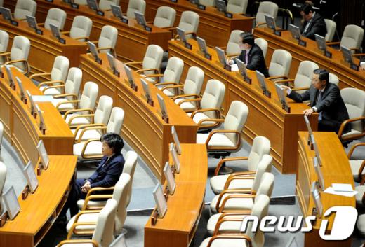 [사진]의원님들은 어디로?
