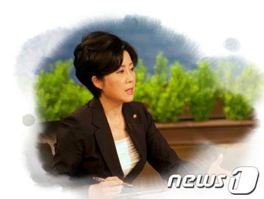 정옥임 한나라당 의원. News1 전준우 인턴기자