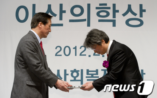 [사진]고규영 교수, 아산의학상 수상