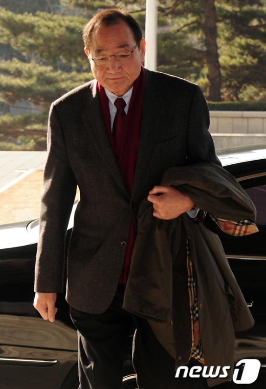 [사진]김효재 전 청와대 정무수석, 검찰소환