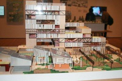 ▲공장을 활용해 여러 가구가 공유할 수 있는 주택과 업무 공간, 정원 등을 만들었다.