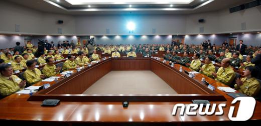 [사진]제45차 중앙통합방위회의