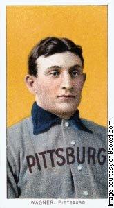 ↑ <b>가장 비싼 '31억원짜리 야구카드'</b>  <br /> 야구 카드(baseball card)는 우리에게 생소한데 우표 수집과 비슷하다고 보면 된다. 가장 비싼 야구 카드는 1909년 발행된 피츠버그 선수, 호너스 와그너 카드로 '야구 카드의 모나리자'라고 불린다. 최근 거래 가격이 280만달러(약 31억원 )였다. 피츠버그의 홈구장인 PNC 파크 정문 앞에는 명예의 전당에 헌액된 호너스 와그너의 동상이 서 있다.