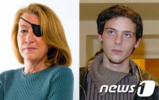 시라이 사태 취재 도중 정부군의 포격으로 사망한 마리 콜빈(왼쪽)기자와 레미 오슐리크 기자 AFP=News1 여인옥