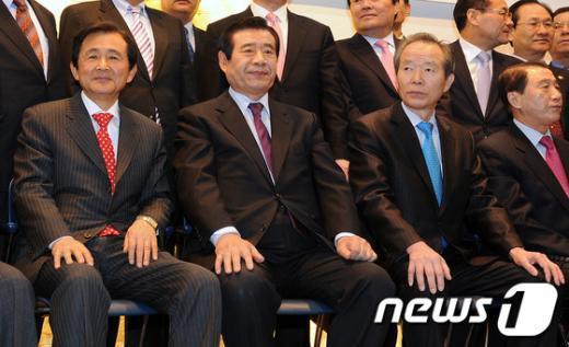 [사진]정통민주당 지도부