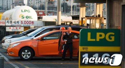 [사진]LPG 가격 사상 최고치, 택시 어쩌나