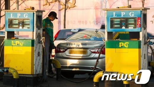 [사진]LPG 가격 사상 최고치 경신