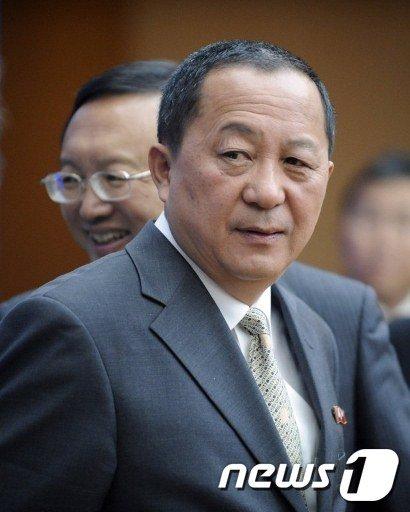 리용호 6자회담 북한수석대표  News1
