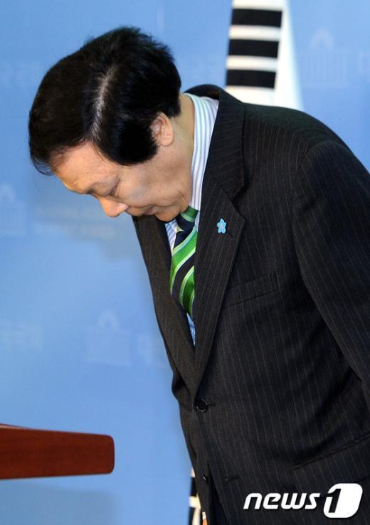 [사진]'미스터 쓴소리' 조순형 의원 중구 출마