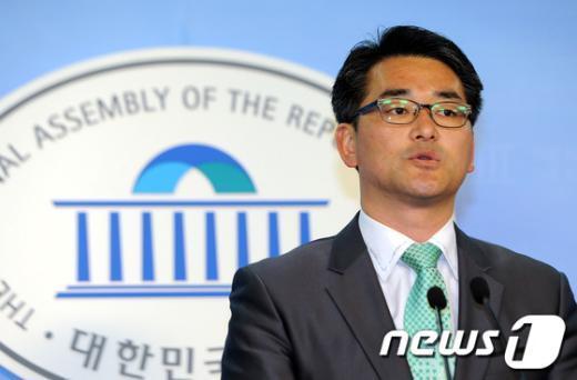 박용진 민주통합당 대변인.  News1 양동욱 기자