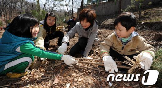 [사진]조선왕릉 나무심기 체험