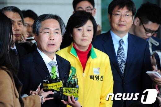 [사진]민주통합당 '불법사찰 엄정수사 촉구'