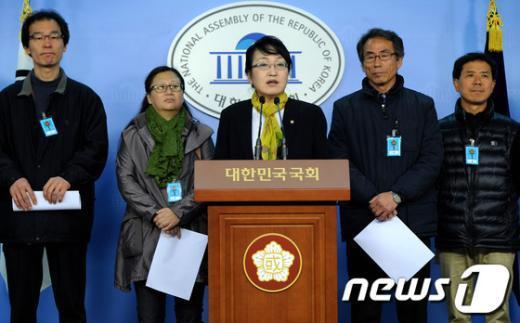[사진]두물머리 경작투쟁 선포 기자회견