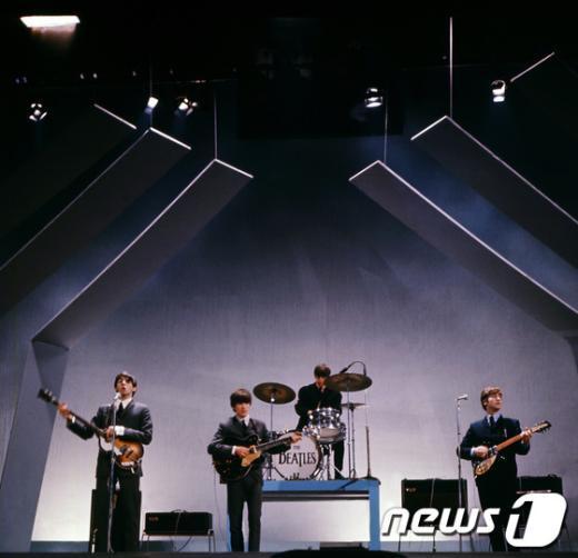 록밴드의 레전드 비틀스. AFP= News1