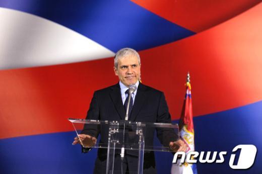 보리스 타디치 세르비아 대통령.  AFP=News1