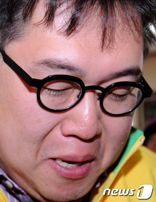 [사진]'후회의 눈물'