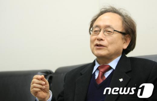 이채언 통합진보당 광주 북갑 후보  News1