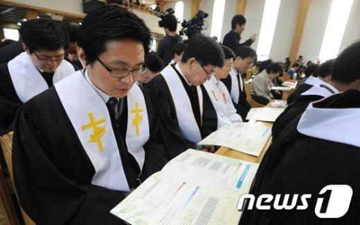 [사진]한기총, 2012 한국교회 부활절 연합예배