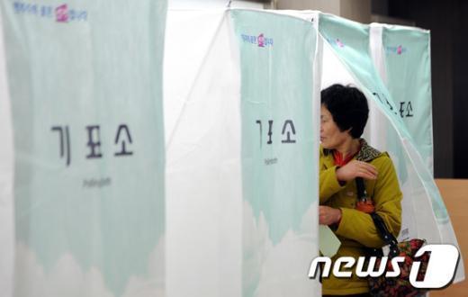 [사진]19대 총선 투표 일제히 시작