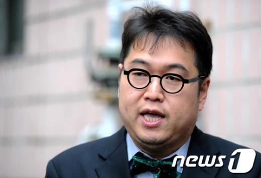[사진]투표 마친 김용민 후보