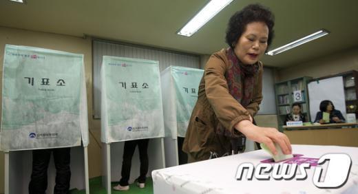 [사진]소신껏 투표