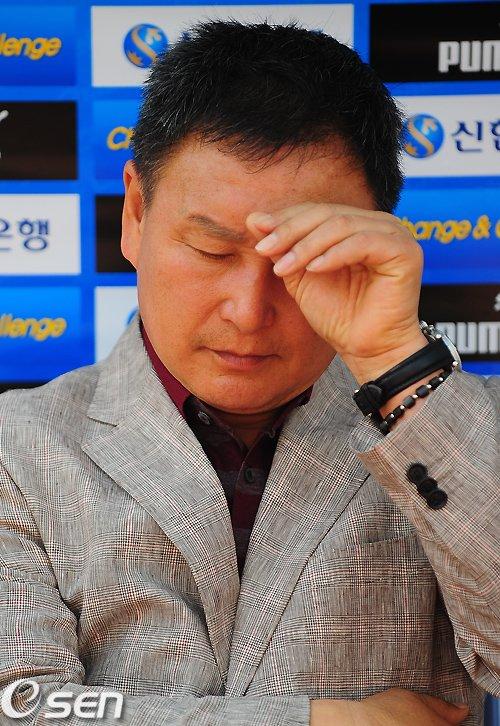 허정무, 인천 감독서 자진 사퇴