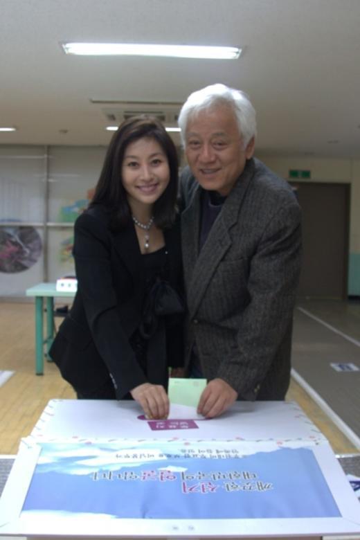 ⓒ사진출처=김한길 민주통합당 후보 트위터(@hangillo)