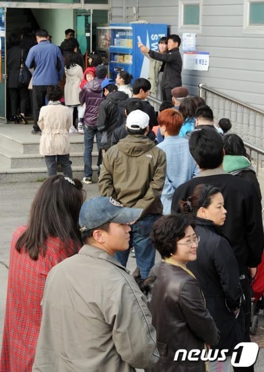 [사진]세종시, 뜨거운 투표 열기