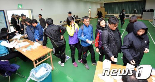 [사진]멈추지 않는 세종시 투표열기