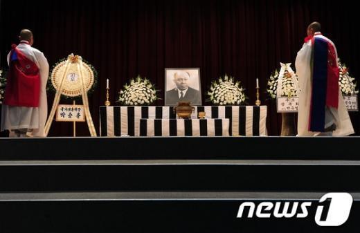 [사진]독립운동가 운암 김성숙 43주기 추모제