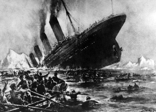 1912년4월15일 침몰했던 타이타닉  AFP=News1