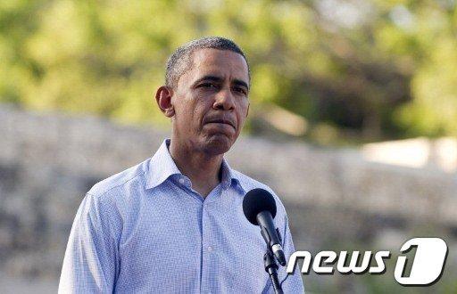 버락 오바마 미국 대통령  News1